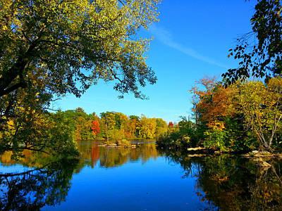 Wisconsin River Colors 2 Art Print