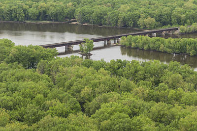 Wyalusing Photograph - Wisconsin River Overlook 2 by John Brueske