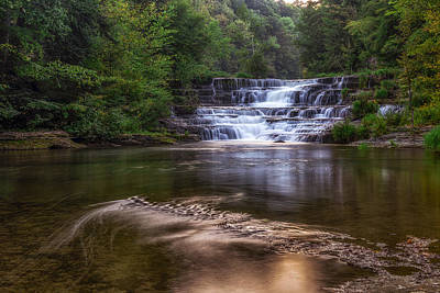 Art Print featuring the photograph Wiscoy Falls by Mark Papke