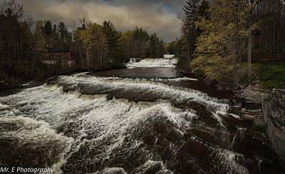 Photograph - Wiscoy Falls by Richard Engelbrecht