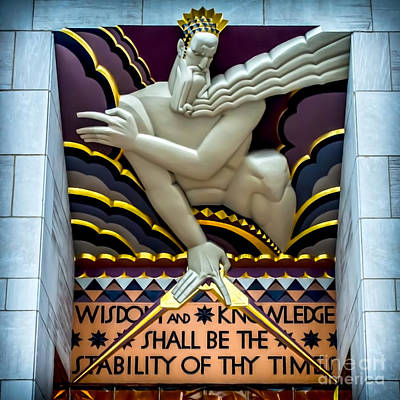 Zeus Photograph - Wisdom And Knowledge by James Aiken