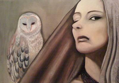 Painting - Wisdom by Gyorgy Szilagyi
