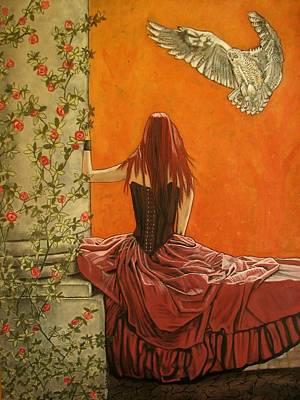 Painting - Wisdom by Melita Safran