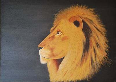 Painting - Wisdom Of A Great King by Benoit Charron
