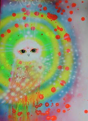Wisdom Of  The Owl  Art Print