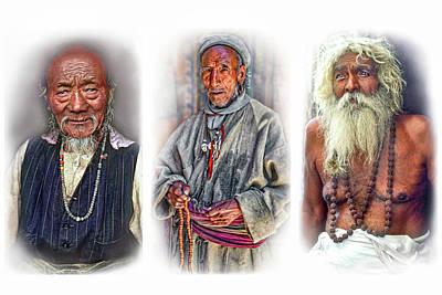 Triptych Photograph - Wisdom - Such A Long Journey 2 by Steve Harrington