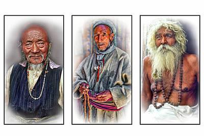 Wisdom - Such A Long Journey 3 Art Print by Steve Harrington
