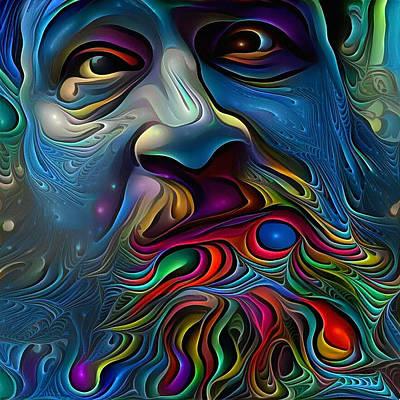 Surrealism Digital Art - Wise Man by Bruce Rolff