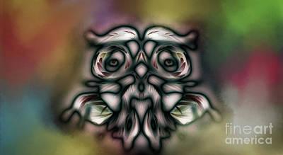 Digital Art - Wise Man by Jan Brons