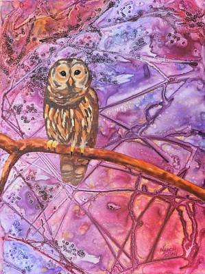 Painting - Wise One by Nancy Jolley
