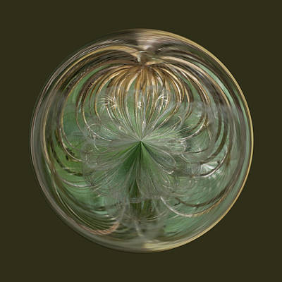 Photograph - Wish Goddess In An Orb by Brent Dolliver