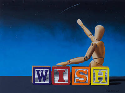 Manikins Painting - Wish II by Tom Swearingen