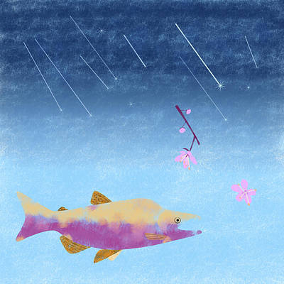 Digital Art - Wish Upon A Shooting Star by Kunal Mehra
