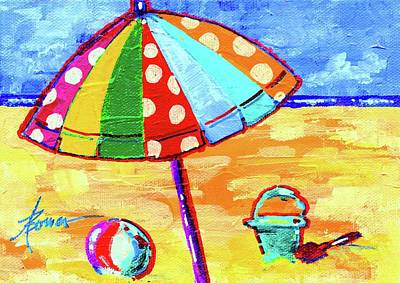 Painting - Wish You Were Here  by Adele Bower