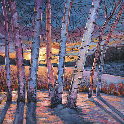 Aspen Wall Art - Painting - Wish You Were Here by Johnathan Harris