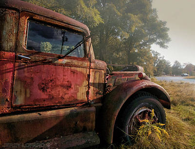 Truck Photograph - Wishful Thinking by Jerry LoFaro