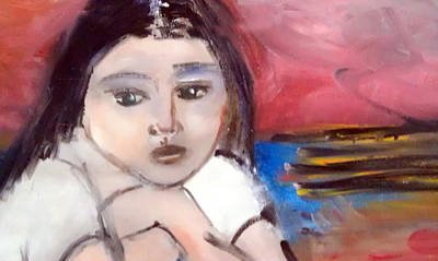 Wishful Thinking Painting - Wishful Thinking by Linda Gail