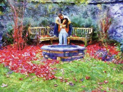 Wishing Pond Print by Jai Johnson