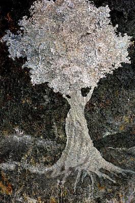 Wishing Tree Art Print by Ed Hall