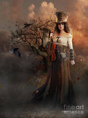 Steampunk Royalty-Free and Rights-Managed Images - Wishing Tree by Shanina Conway