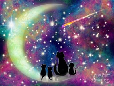 Digital Art - Wishing Upon A Star  by Nick Gustafson