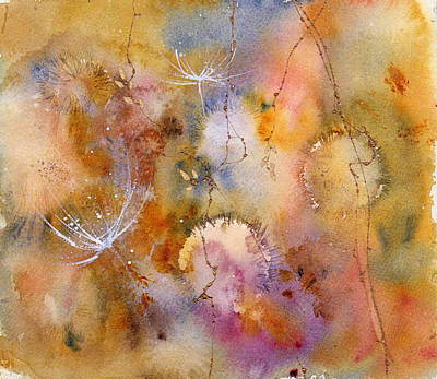 Mixed Media - Wishing Weeds by Anne Duke