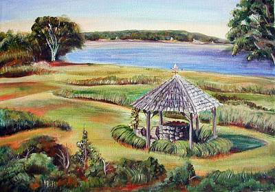 Wells Harbor Painting - Wishing Well by Patricia Piffath