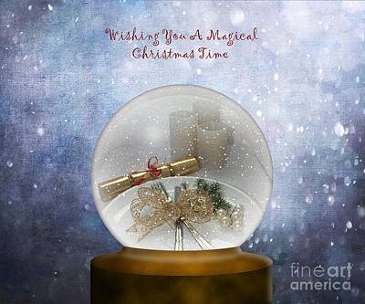 Photograph - Wishing You A Magical Christmas Time by Terri Waters