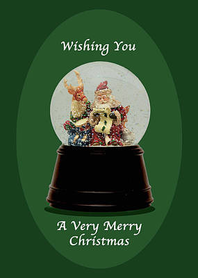 Photograph - Wishing You A Merry Christmas by Joni Eskridge