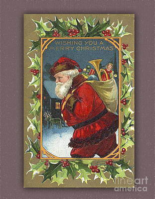Digital Art - Wishing You A Merry Vintage Chistmas by Melissa Messick