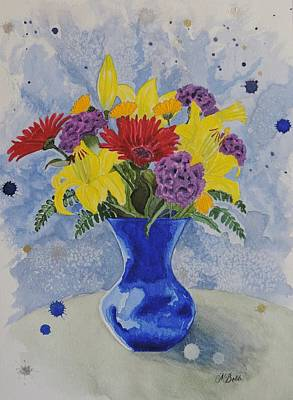 Get Well Soon Painting - Wishing You Well by Margaret Bobb