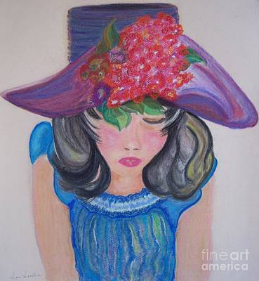 Wishing You Were Here Art Print by Lori  Lovetere