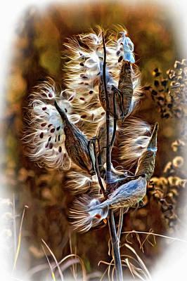 Weed Digital Art - Wispy Memories by Steve Harrington