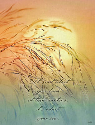 Digital Art - Wispy Sunset-7 by Nina Bradica