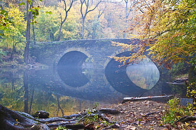 Mill Photograph - Wissahickon Creek At Bells Mill Rd. by Bill Cannon