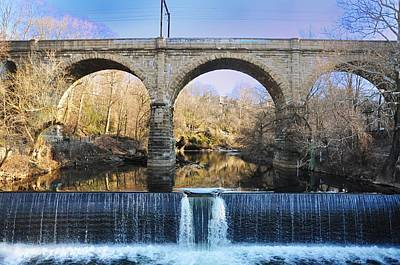 Manayunk Photograph - Wissahickon Viaduct by Bill Cannon