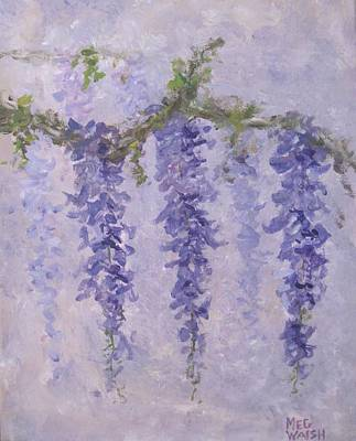 Painting - Wisteria 2 by Megan Walsh