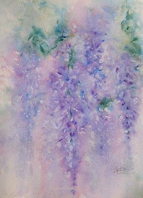 Painting - Wisteria Dream by Bette Orr
