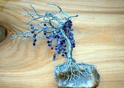 Sculpture - Wisteria by Gwendolyn Frazier
