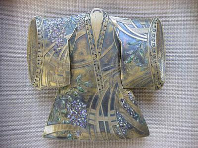 Sculpture - Wisteria Kimono by Brenda Berdnik
