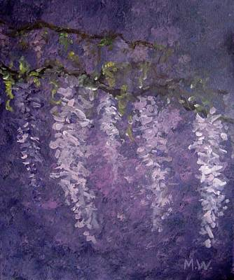 Painting - Wisteria by Megan Walsh