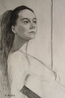 Drawing - Wistful Thinking by Robert Holden