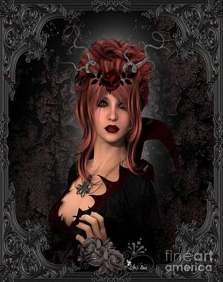 Witch Beauty Art Print