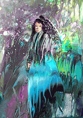 Painting - Witch Queen by Miki De Goodaboom
