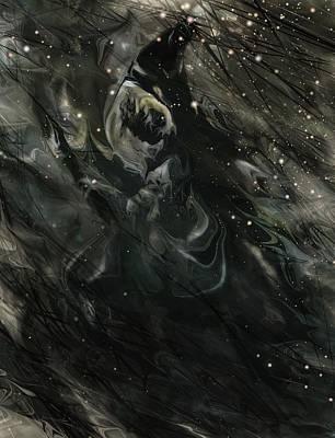 Goblin Digital Art - Witch by Rachel Christine Nowicki