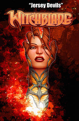 Witchblade - Jersey Devils Original