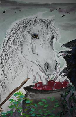 Painting - Witches Brew by Susan Snow Voidets