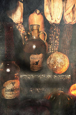 Witches Brew  Art Print by Toni Hopper
