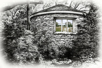 Photograph - Witches Cottage Window by Sharon Popek and Isabella Shores