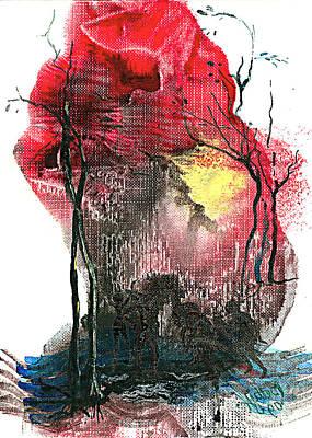 Witches' Night Art Print by Elisabeta Hermann